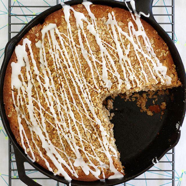 Permalink to: brown butter apple crisp skillet muffin bread
