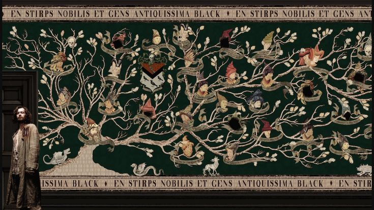Sirius black family tree