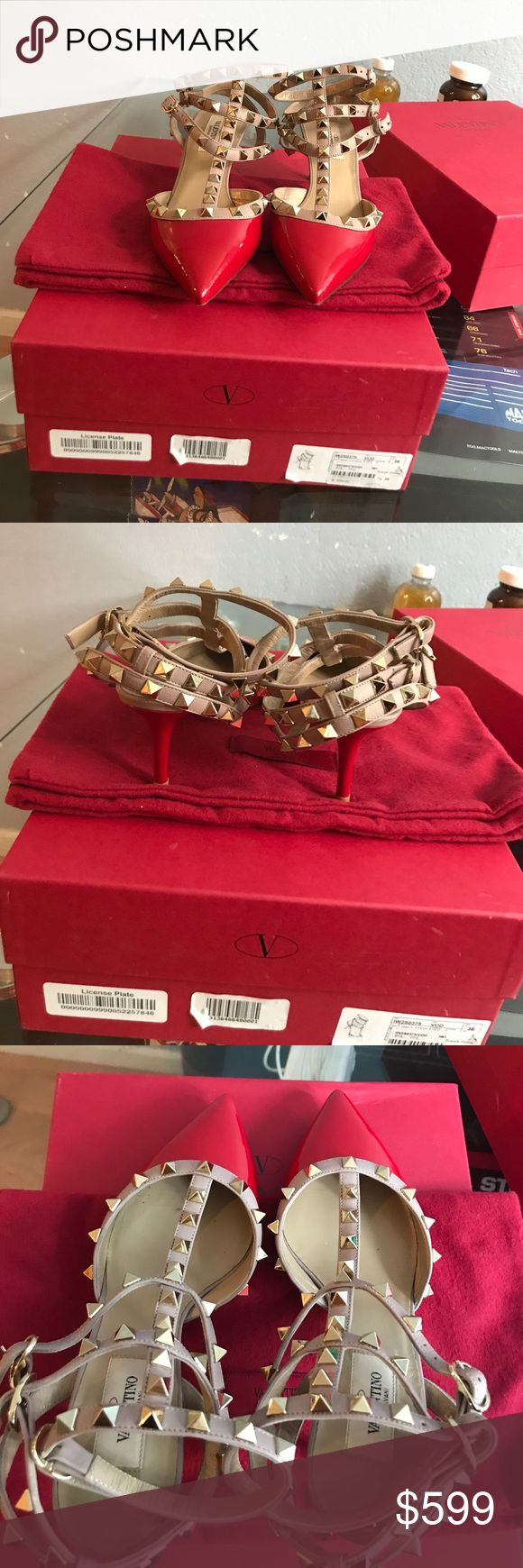 Authentic valentino shoes (size 36) Like news Valentino Shoes Heels