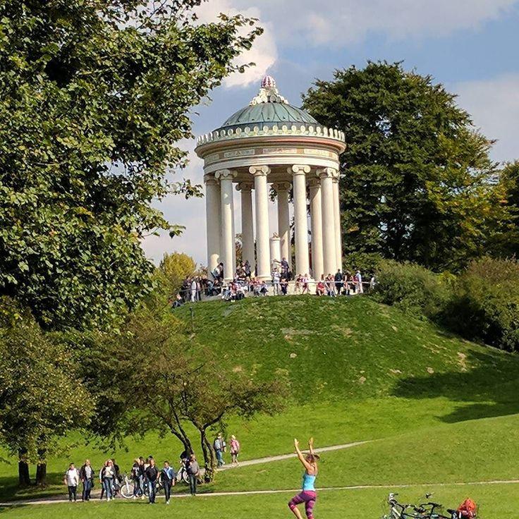Unterwegs in #München #englischergarten