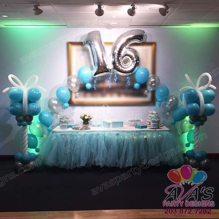 17 best images about balloon arches on pinterest mickey for Balloon decoration ideas for sweet 16
