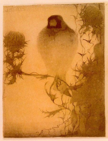 Jan Mankes Pencil And Black Chalk Bird Artart Il Rationsblackbirdsstudy Ide Ilk Paintingpublic Domainpretty Picturescrowsravens
