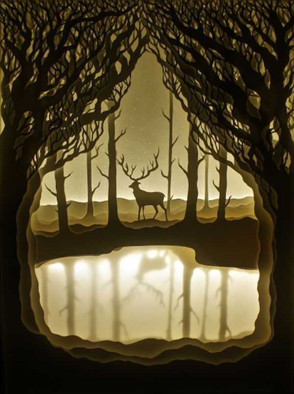 Colorado based artists Hari & Deepti are both well trained and remarkable artists working as graphic designers and artists for different corporations in their day jobs. For their time together, the couple collaborate on these paper cut shadow boxes, some of which we see here. Experimenting with paper for their project, the artists found interestContinue Reading…