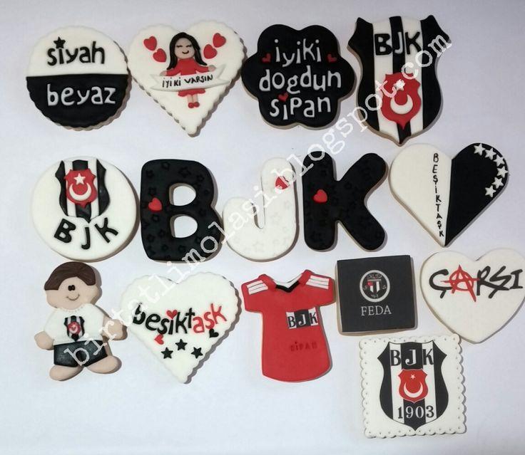 Beşiktaş taraftar kurabiyeleri