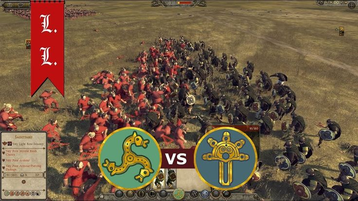 Attila Total War - Online Battle - 1vs1 who can beat the Franks? (#115)