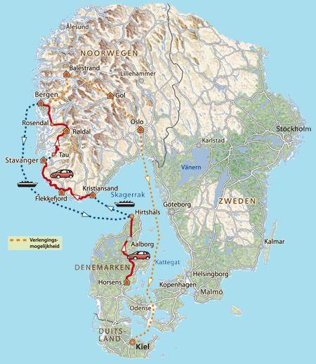 12-d rondreis Noorwegen - Het mooiste uitzicht ter wereld - Westland - Noorwegen