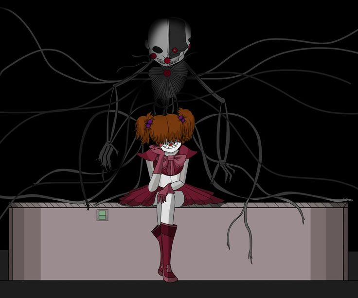 baby and ennard FNAF Sister Location