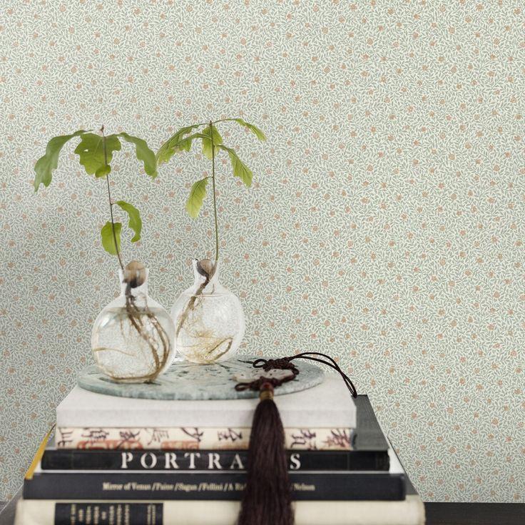 Första stora bilden av tapetern Soho grön