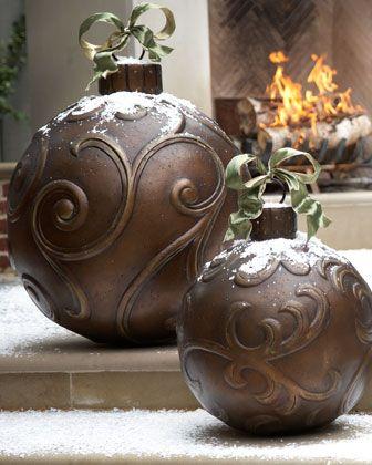 best 25 large christmas ornaments ideas on pinterest. Black Bedroom Furniture Sets. Home Design Ideas