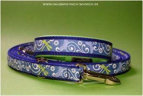 Modisches für Hunde - Halsband nach Wunsch.