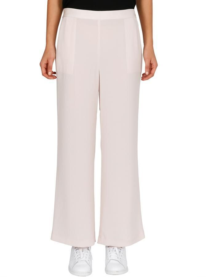 Luxe Deluxe - Fast Fix Wide Leg Pant - Bare Beige