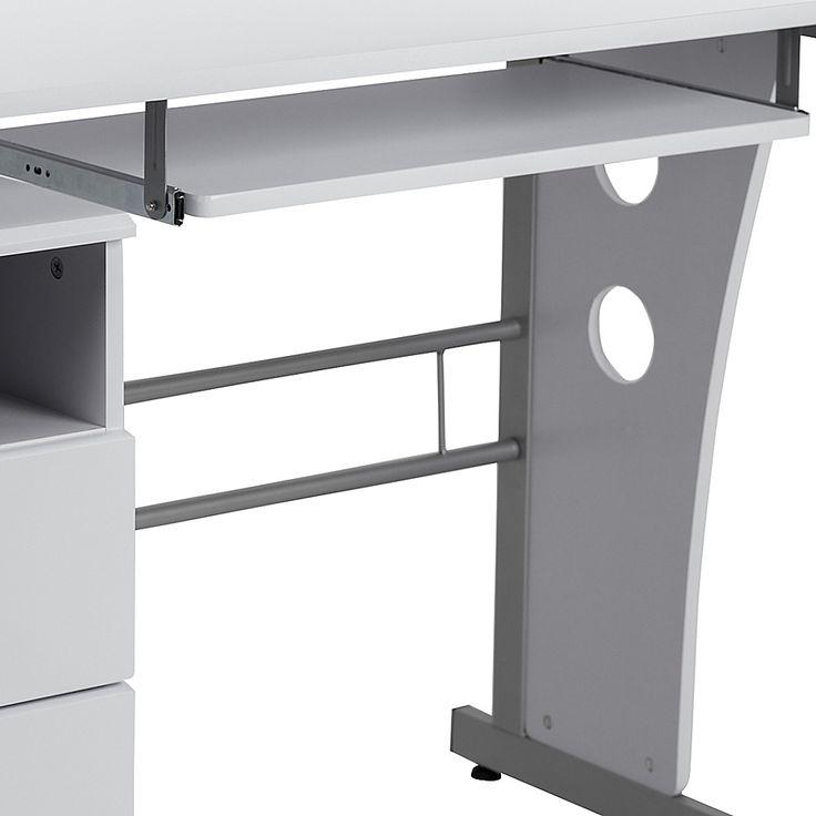 Flash Furniture 3 Drawer Pedestal, Flash Furniture Computer Desk With 3 Drawer Pedestal