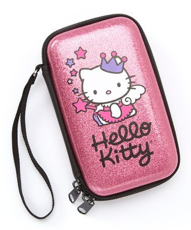 Take a look at this Pink Hello Kitty Glitter Case by FAB*Starpoint on #zulily today!