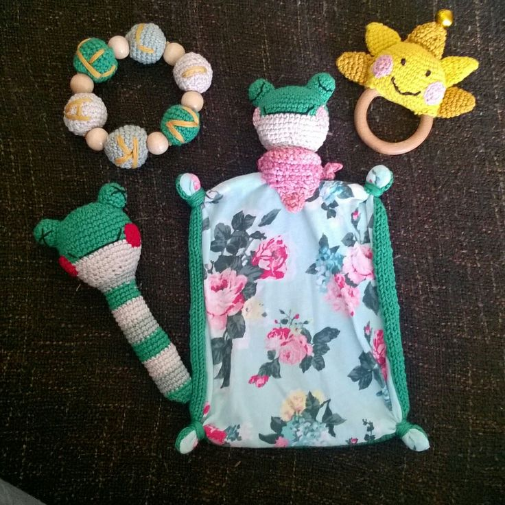 Toys for our baby girl 😊 frogs,  crochet toys