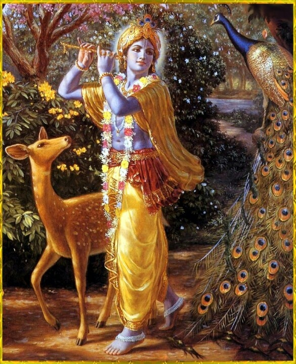 Krishna. Learn about Reincarnation in Hinduism here: http://thesoulwanderers.blogspot.ca/2014/09/quotes-of-wisdom-reincarnation-in.html