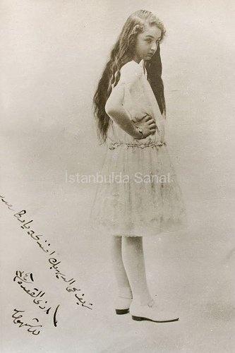 DURRUSHEHVAR SULTAN - the daughter of the last Ottoman Caliph Abdulmecid II.