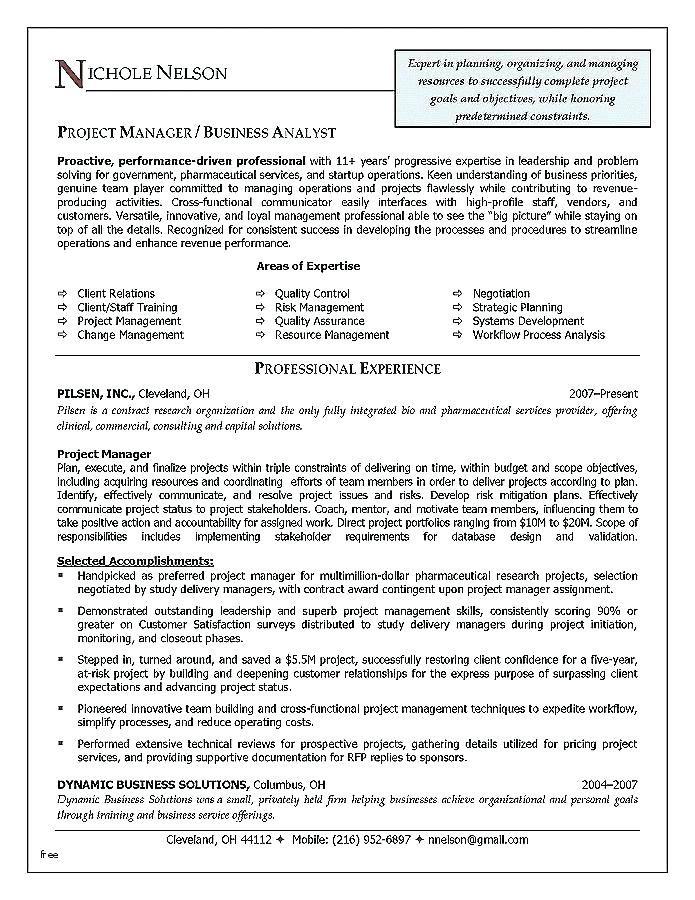 Project Coordinator Sample Resume Lebenslauf Vorlagen Resumeexamples Resumetemplates Curriculumvitae
