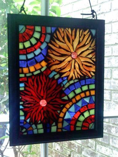 Mini Mosaic Window by leannchristian, via Flickr