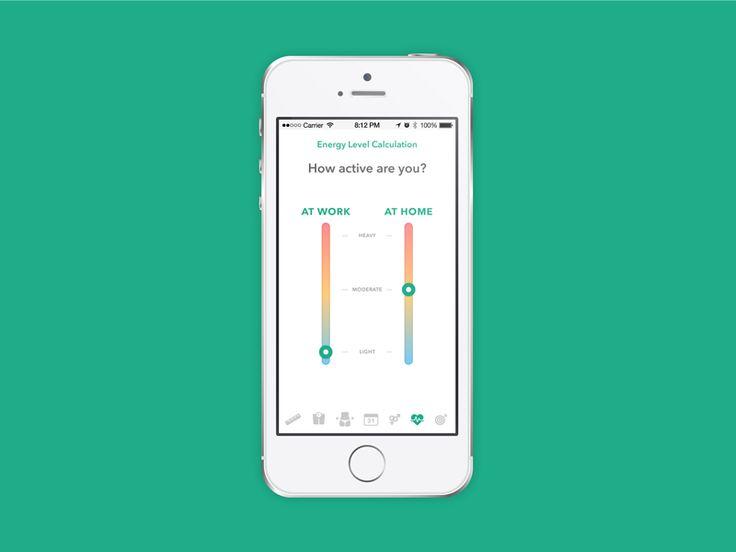Meal Planner App concept Setup