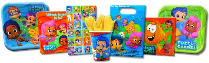 Bubble Guppies Party Supplies!