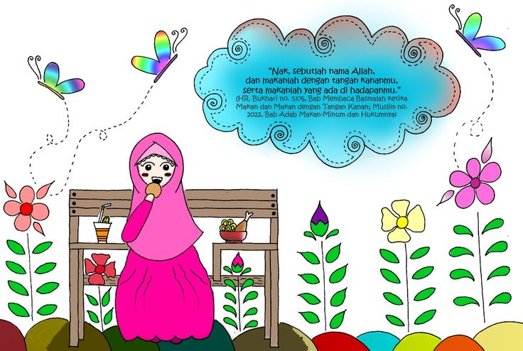 Digital Coloring #islamic #kids # illustrations #ciprut.co #2 #doodle_by_@hindipendent