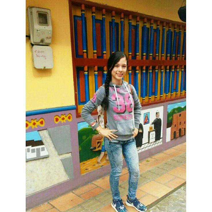 Calle de los recuerdos Guatapé