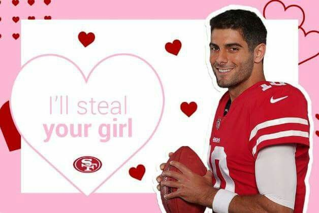 Pin By Diana Sanchez On 49ers Sports Valentine 49ers Valentine Day Cards