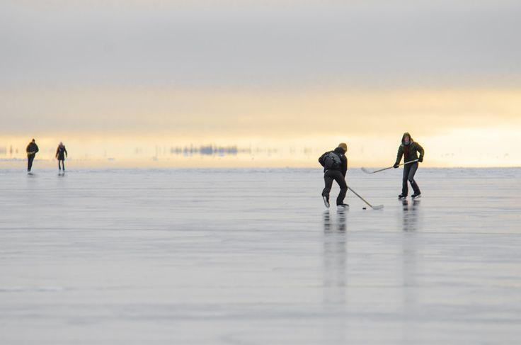 Northerner Hockey on Great Slave Lake by Jason Simpson on 500px