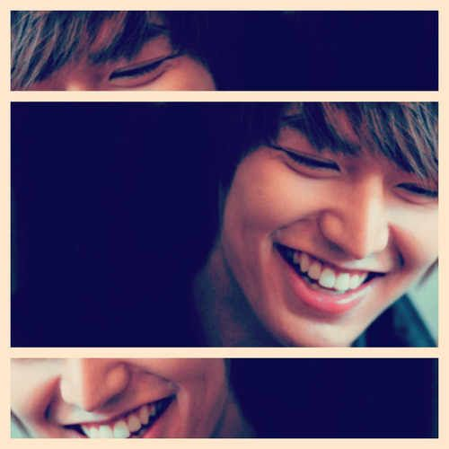 I think that what I love about LMH the most is his smile. It makes me feel warm inside :3