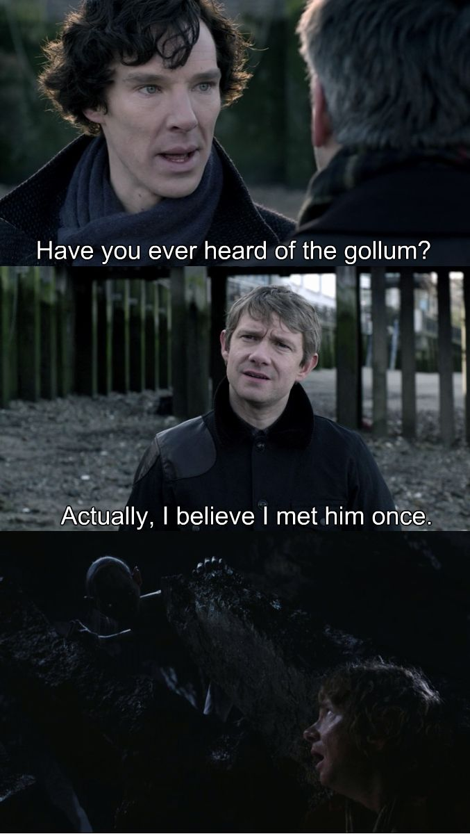 Funny Hobbit Quotes: LOL Funny Bbc The Hobbit Martin Freeman Humor Sherlock
