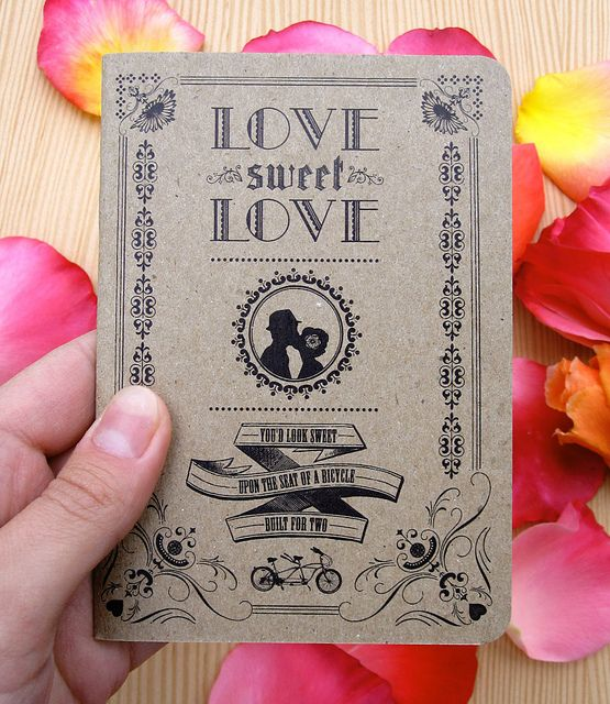 Make Your Own: Wedding Edition! by scoutbooks, via Flickr