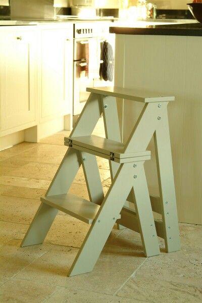 Folding step chair…