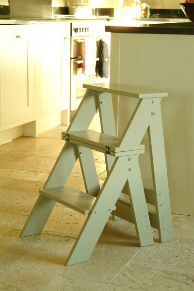 Folding step chair…
