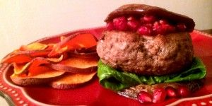 Lamb Burger, Paleo and Gluten Free