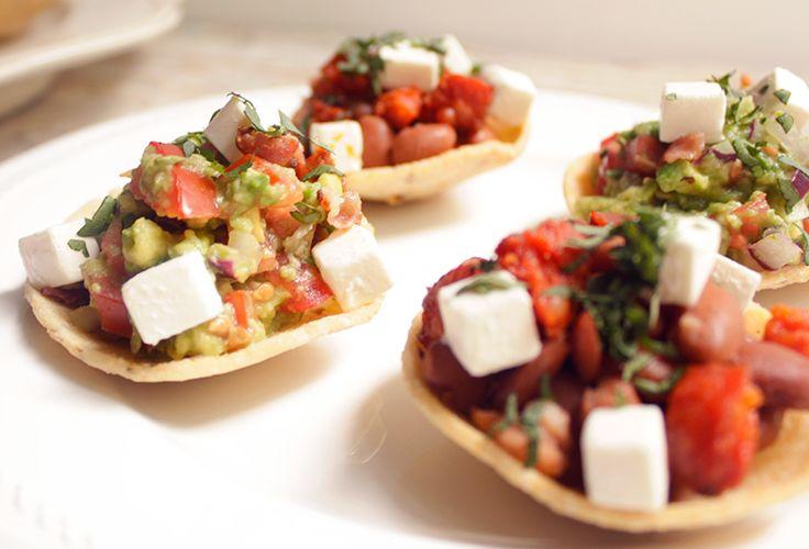 ¿Qué tal si preparas unas ricas Chalupitas Mexicanas como guarnición acompañado de una nuestras recetas de comida hechas con Philadelphia?