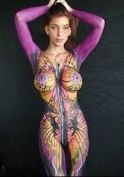 body painting before and after - Google Search