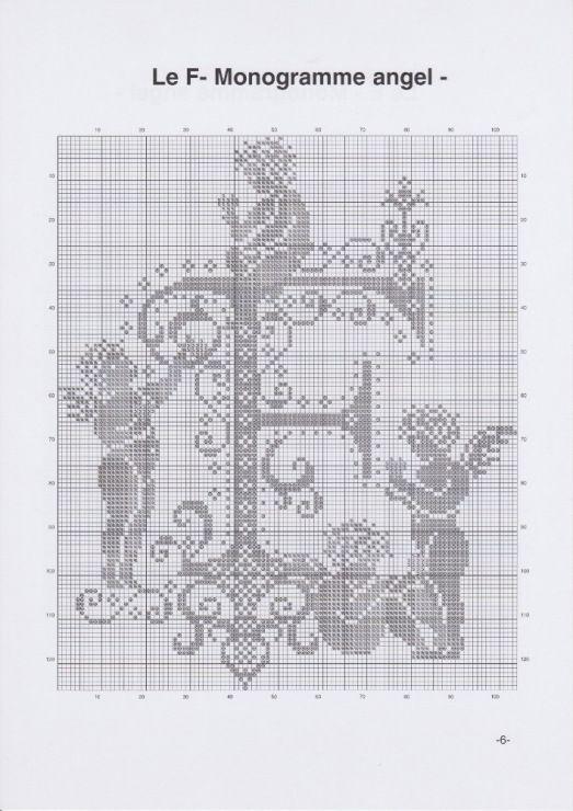 Gallery.ru / Фото #9 - JD327 - Monogrammes Angels - lyulnar