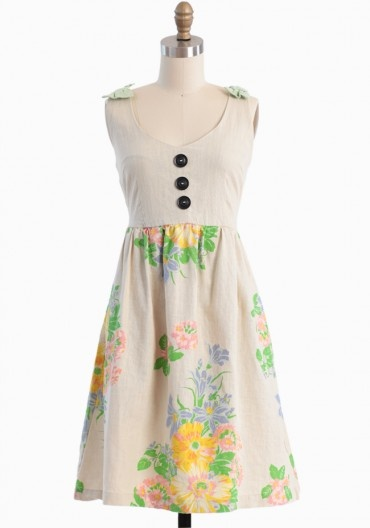 Delila Floral Dress By Knitted Dove