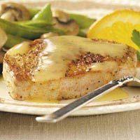 Pork Chops in Orange Sauce   Low Sodium Recipes
