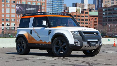 Liking the new Land Rover (their concepts always look much better than reality though)