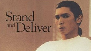 Stand and Deliver --- yep, another teacher movie!  :)