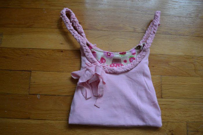 Super purse from an old children's pajamas | Craft