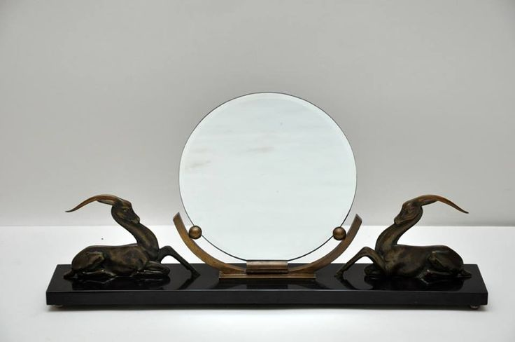 Французское настольное зеркало / French Art Deco Mirror