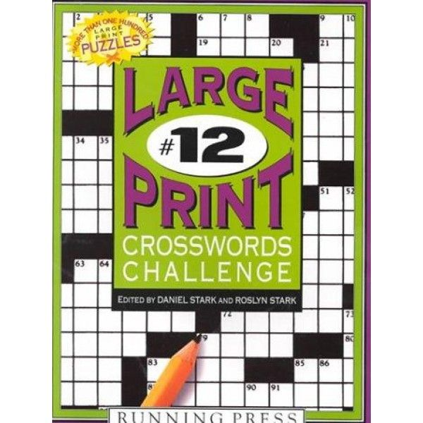 crosswords challenge (large print crosswords challenge)