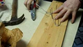 How to make your very own DIY Hangers for your American Girl Doll and other 18 inch dolls!, via YouTube.