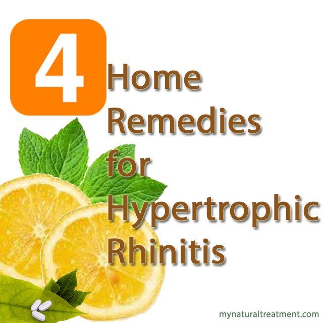 # 2 Lemon Juice, a Cure for Chronic Hypertrophic Rhinitis