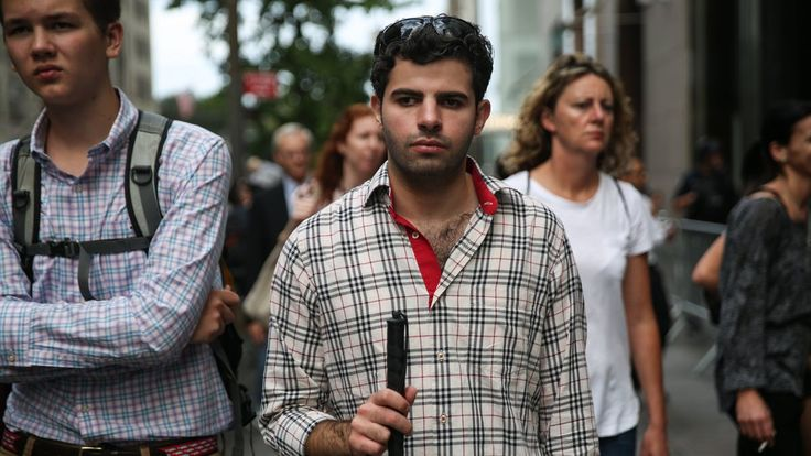 #MONSTASQUADD A Blind Syrian Refugee Finds His Way in New York