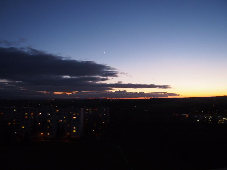 Soon after sunset /1/