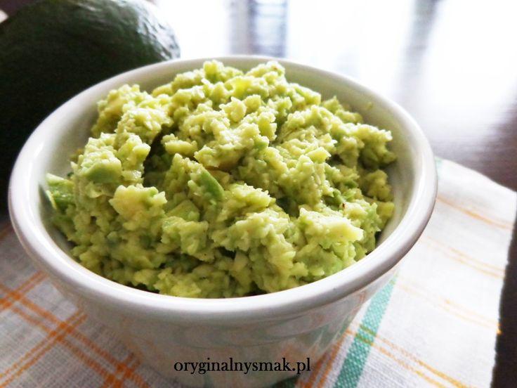 Proste guacamole