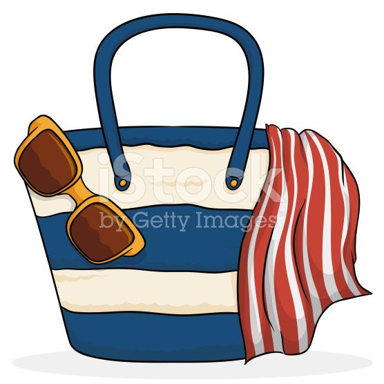 Beach Purse with Summer Elements